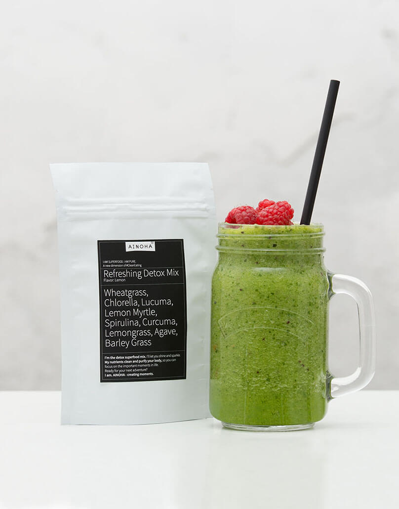 the refreshing detox mix ainoha superfoods. Black Bedroom Furniture Sets. Home Design Ideas