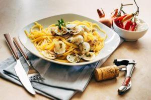 Spaghetti Vongole schmecken besser, wenn man mit dem Rauchen aufhört