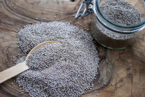Superfood chia seeds